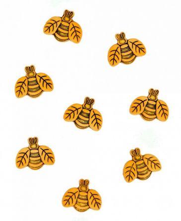 """Пуговицы для творчества """"Большие пчелки"""" Dress It Up JESSE JAMES (0735)"""