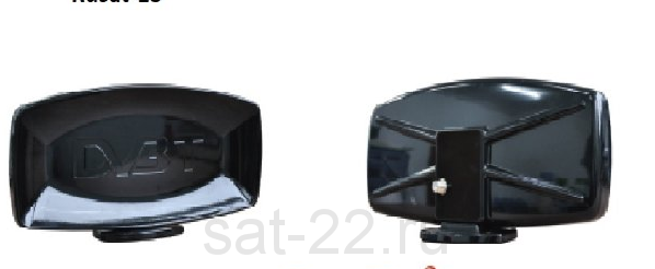 Антенна комнатная Русат 13 с блоком питания 12V