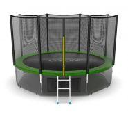 Батут EVO jump 12 ft External (Green) + Lower net.