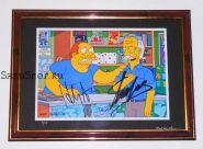 Автографы: Стэн Ли, Хэнк Азария. Симпсоны / The Simpsons. Редкость