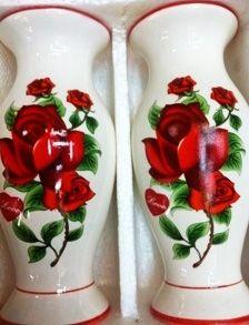 Ваза-пара Цветы   (16 см)