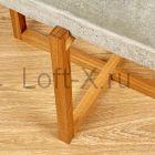 """Кофейный стол с бетонной столешницей """"Craft"""""""