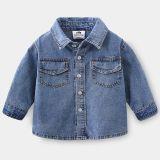 Джинсовая рубашка BABYKIDS ELEMENT b217