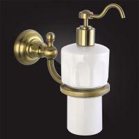 Керамический дозатор для жидкого мыла Elghansa Praktic PRK-471 Bronze