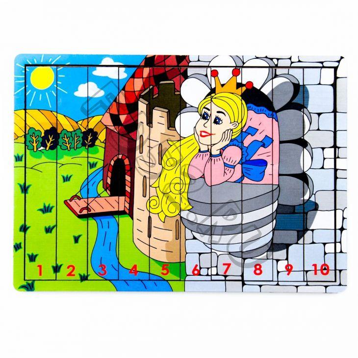 Логические палочки принцесса в замке 221238