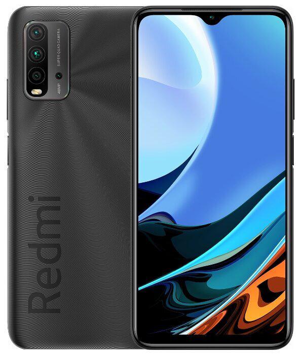 Смартфон Xiaomi Redmi 9T 4/64GB (NFC) Серый