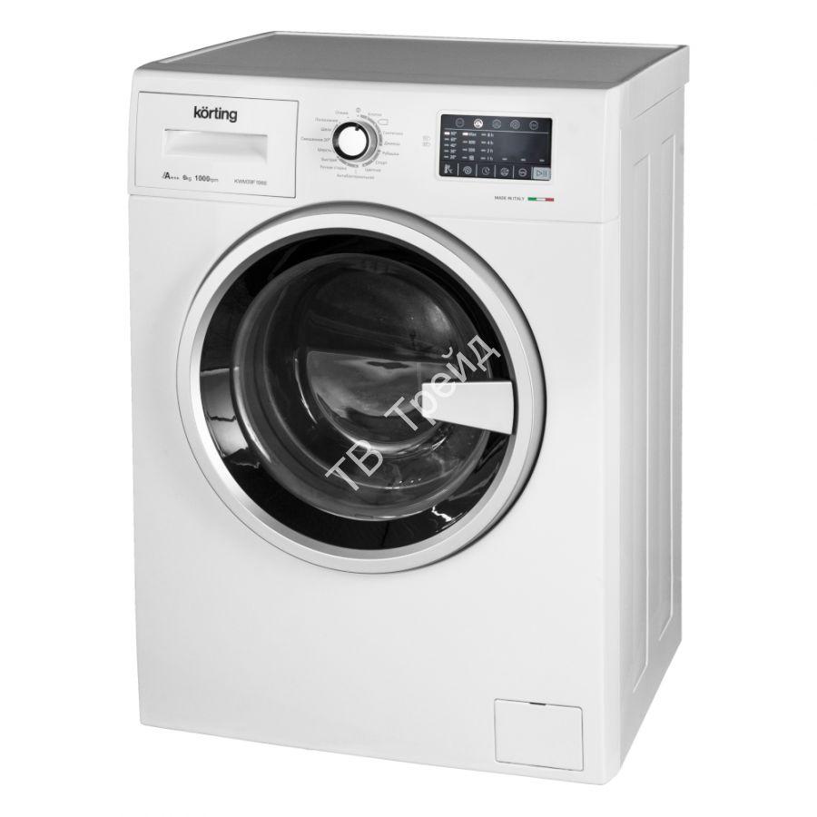 Узкая стиральная машина Korting KWM 39F1060