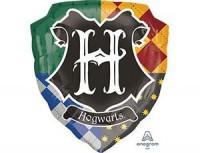 Герб Хогвартса фигурный шар фольгированный с гелием