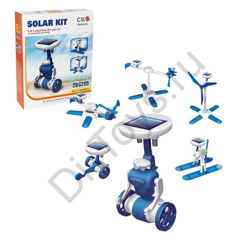 Конструктор SOLAR KIT 6 в 1