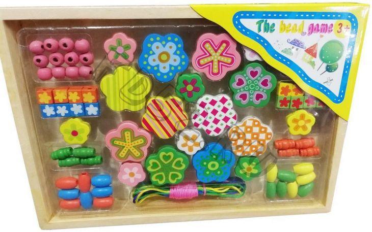 Игровой набор «Цветы», в комплекте 75 предметов 800255