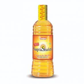 Sesame Oil SAPTA SHAKTI, Pitambari (Пищевое кунжутное масло холодного отжима САПТА ШАКТИ, Питамбари), 500 мл.
