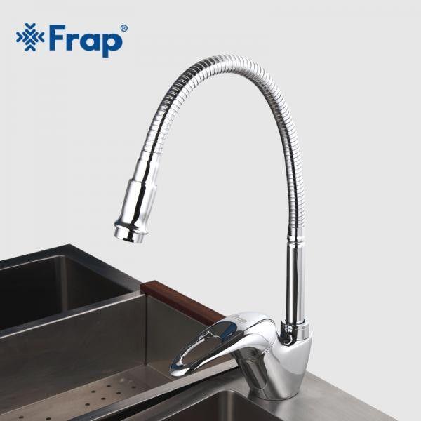 Смеситель для кухни с гибким изливом Frap F4303-1