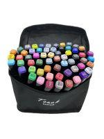 Фломастеры маркеры двусторонние для скетчинга Touch Cool 60 цветов