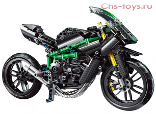 Конструктор MOULD KING Technic Kawasaki Ninja H2R 23002 639 дет