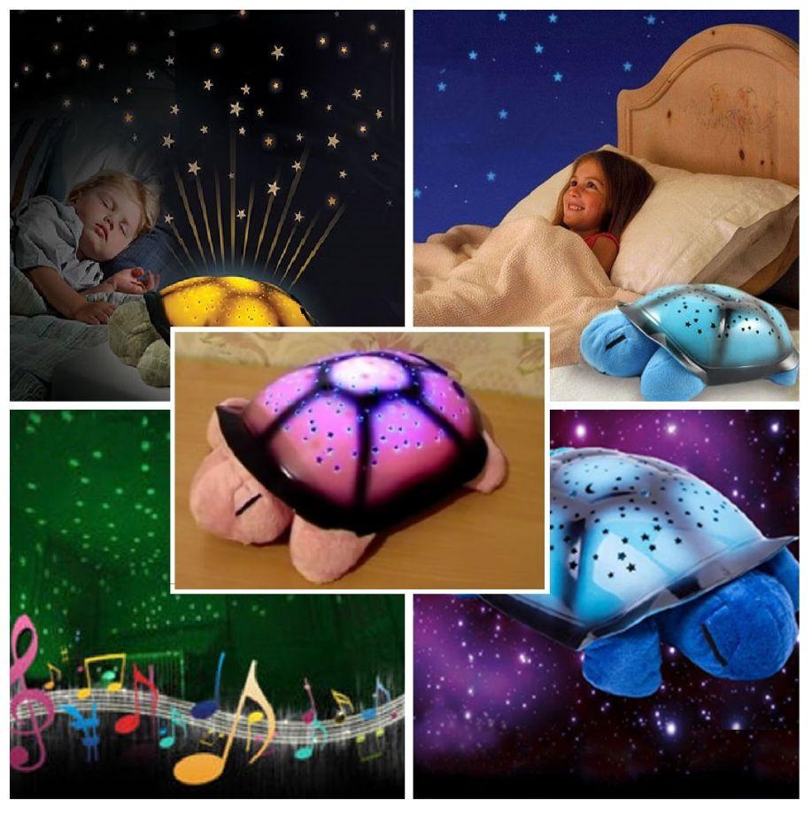 Ночник музыкальный «Черепаха» проектор звездного неба