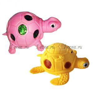 Черепаха АНТИСТРЕСС с шариками ОРБИС в ассортименте