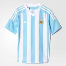 Детская футболка adidas Argentina Home Jersey Young голубая