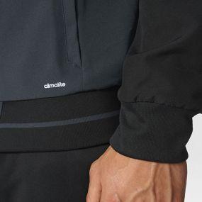 Парадная куртка adidas Tiro 17 Presentation Jacket чёрно-серая