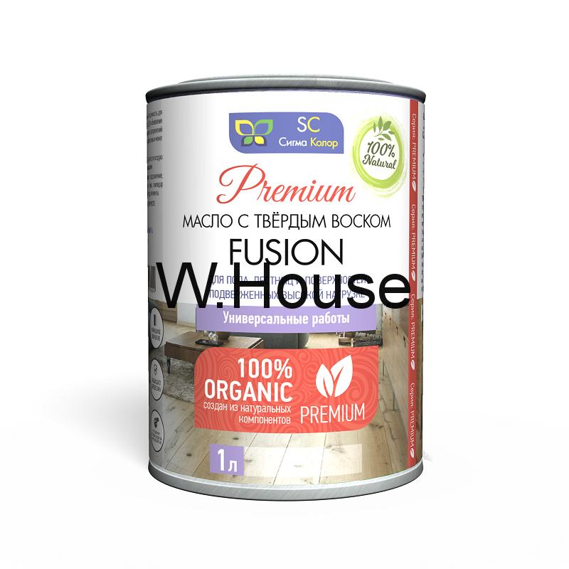 Масло с твёрдым воском Fusion для пола и лестниц, быстросохнущее