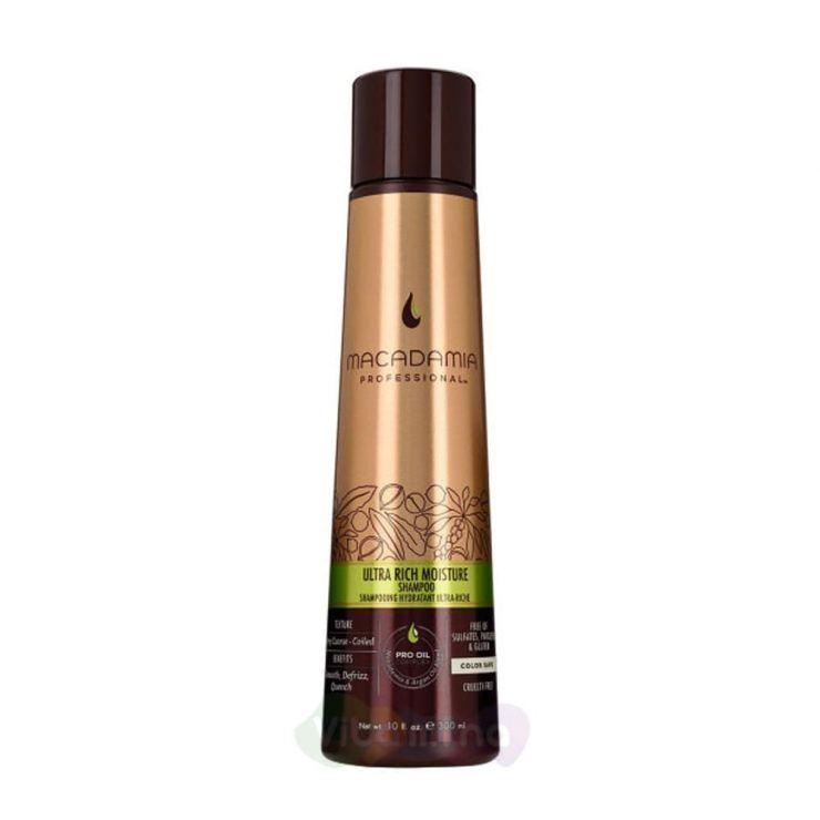 Macadamia Шампунь увлажняющий для жестких волос ULTRA RICH  MOISTURE SHAMPOO, 300мл.