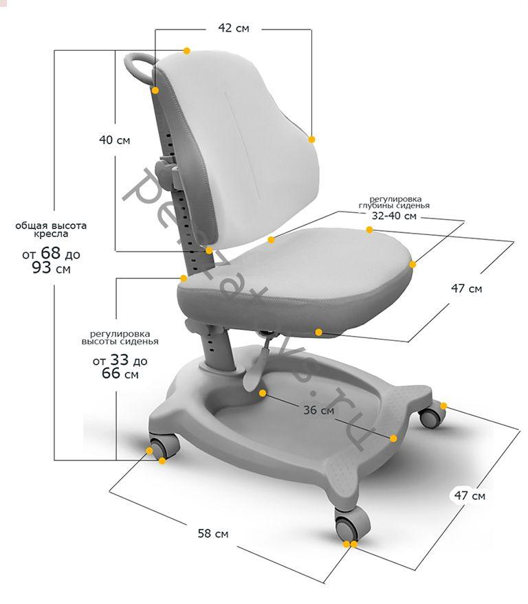 Детское растущее кресло ErgoKids Y-402 ortopedic