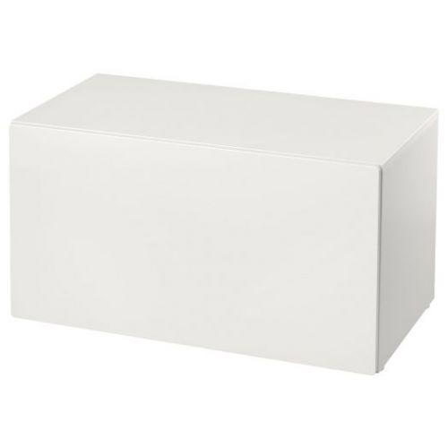 SMASTAD СМОСТАД, Скамья с отделением для игрушек, белый/белый, 90x52x48 см - 593.932.94