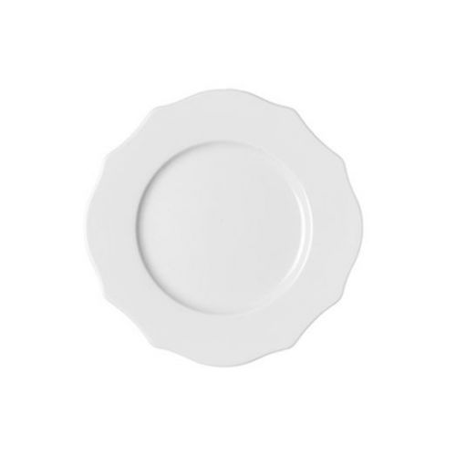 Тарелка для фруктов Belle Epoque белая