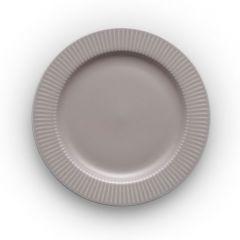 Тарелка круглая Legio Nova D19 см серая