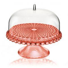 Тортовница Tiffany S коралловая