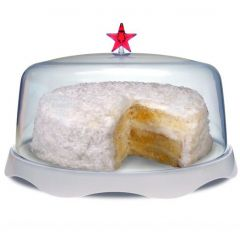 Тортовница подарочная Merry Tray большая белая