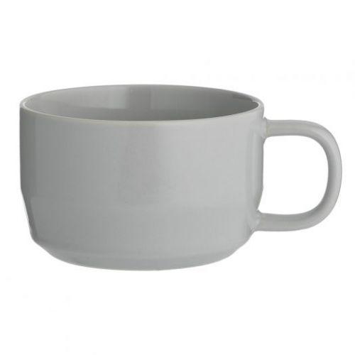 Чашка для каппучино Cafe Concept 400 мл серая