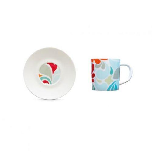 Чашка для эспрессо с блюдцем Remember, Florina, 75 мл