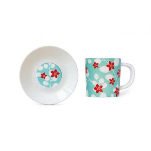 Чашка для эспрессо с блюдцем Remember, Primavera, 75 мл