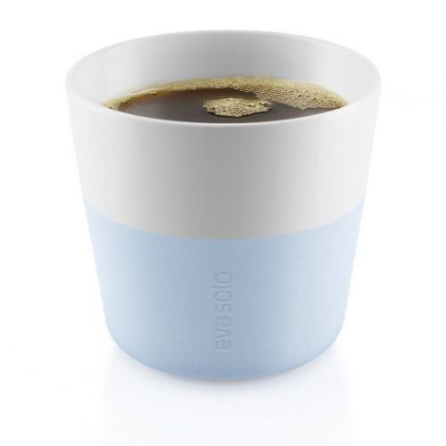Чашки для лунго 2 шт 230 мл голубой
