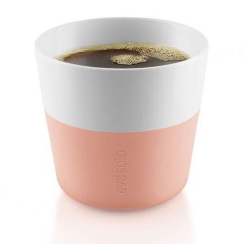 Чашки для лунго 2 шт 230 мл персиковый