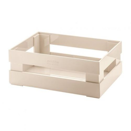 Ящик для хранения Tidy & Store S 22,4х5,4х8,7 см бежевый