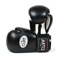 Перчатки боксерские CLIFF, DRAGON Classic (FLEX)  6 oz чёрные