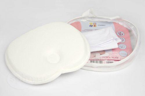 Детская подушка Тривес ТОП-109 до 1 года с эффектом памяти (Т.109)