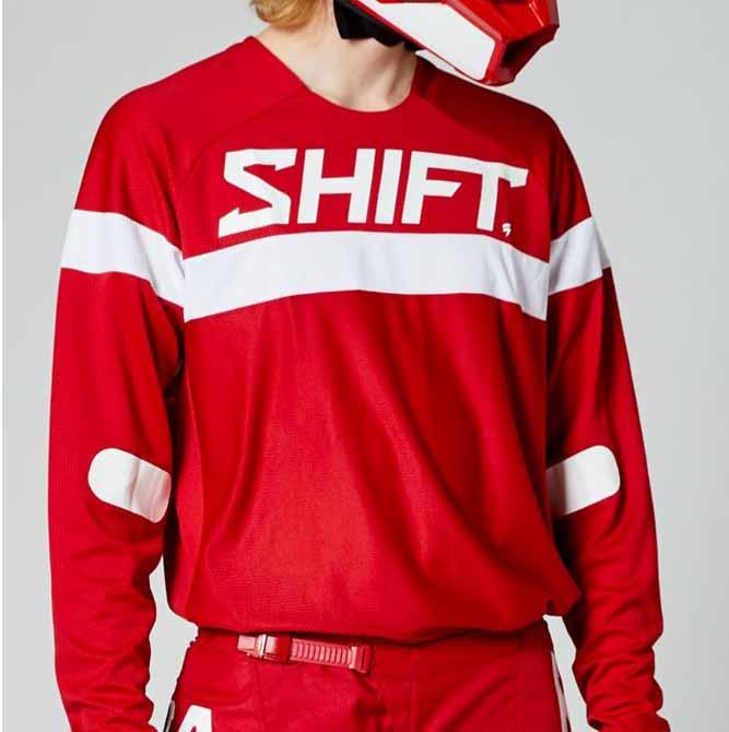 Shift White Label Haut Red джерси для мотокросса