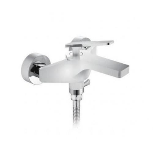 Смеситель для ванны Frap F3258 белый/хром