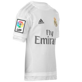 Детская футболка adidas Real Home Jersey Young белая