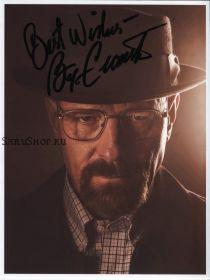 Автограф: Брайан Крэнстон. Во все тяжкие. ( Breaking Bad )