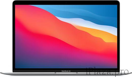 Apple MacBook Air (M1, 2020) 8 ГБ, 256 ГБ SSD, серебристый, MGN93RU/A