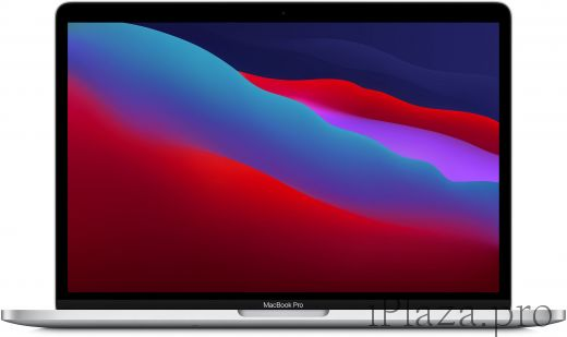 "Apple MacBook Pro 13"" (M1, 2020) 8 ГБ, 512 ГБ SSD, Touch Bar, серебристый, MYDC2RU/A"