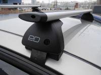 Багажник на крышу Toyota Hilux, Евродеталь, крыловидные дуги