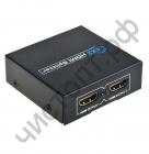 Конвертер разветвитель HDMI-SPLITTER 1080P 3D, 1x2 порта HD-34