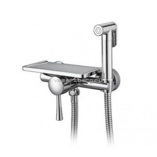 Гигиенический душ с полкой Frap F7514