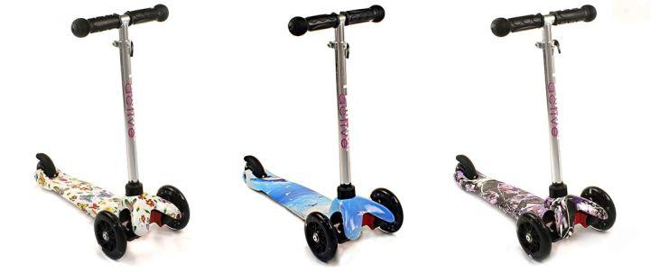 Детский Самокат Scooter Mini Flash трёхколёсный от 2 лет