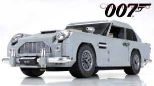 Конструктор LELE Creator James Bond Aston Martin DB5 39124 (Аналог LEGO Creator 10262) 1304 дет