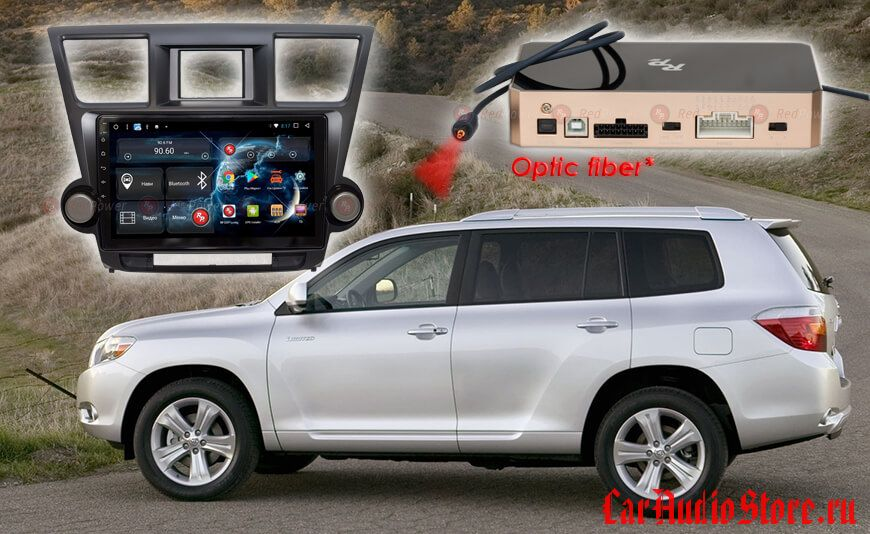 Toyota Highlander Redpower 31035 R IPS DSP ANDROID 7